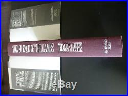Thomas Harris,'The Silence of the Lambs' SIGNED true first edition 1st/1st