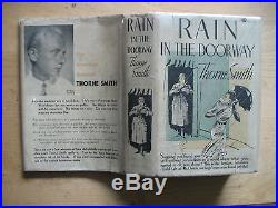 Thorne Smith Rain in the Doorway Signed First Edition Hardback 1933 Doubleday