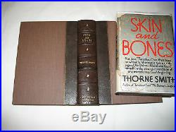 Thorne Smith, Skin and Bones, Signed, First Edition, Printed 1933