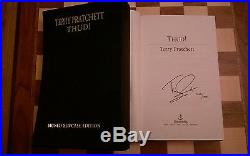 Thud SIGNED NUMBERED SLIPCASED LIMITED EDITION Terry Pratchett Hardback 1st/1st