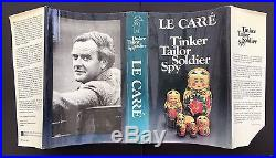 Tinker Tailor Soldier Spy John Le Carre Signed First UK Edition
