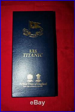 Titanic First Class Spoon LImited Edition With Millvina Dean Hand Signed Scroll