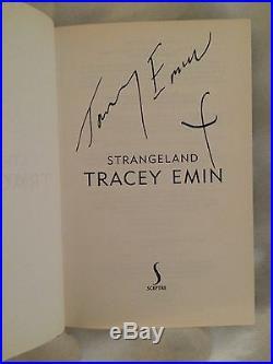 Tracey Emin 1st Edition Strangeland book SIGNED
