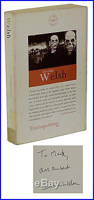 Trainspotting SIGNED by IRVINE WELSH First UK Edition 1993 1st Printing