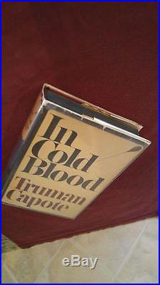 Truman Capote, Signed, In Cold Blood, First Edition, First Printing