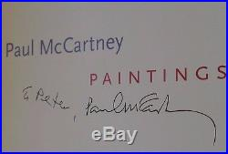 ULTRA RARE SIGNED PAUL McCARTNEY, PAINTINGS- FIRST EDITION FIRST PRINT