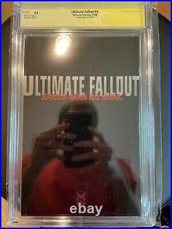 Ultimate Fallout #4 La Mole Foil Variant Cgc 9.8 2x Ss 1st Miles Morales
