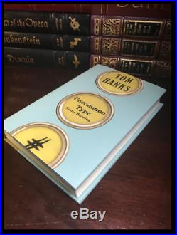 Uncommon Type Some Stories SIGNED by TOM HANKS New Hardcover 1st Edition Print
