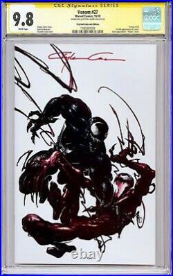 Venom #27 2020 CGC SS 9.8! Signed Clayton Crain! Virgin Variant! 1st full Codex