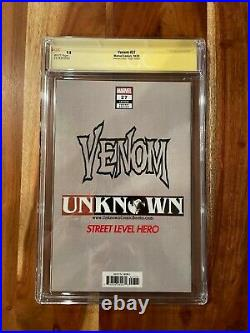 Venom #27 CGC 9.8 DELL'OTTO VIRGIN VARIANT Signed 1st Full appearance of Codex