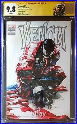 Venom #27 Clayton Crain Black Virgin Variant CGC SS 9.8 1st App Codex Signed