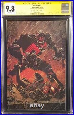 Venom #3 Cgc Ss 9.8 Virgin Variant Donny Cates Spider-man Carnage 1st App Knull