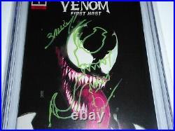 Venom First Host #1 CGC Signature Autograph MARK BAGLEY Sketch Variant 9.8 RIVC