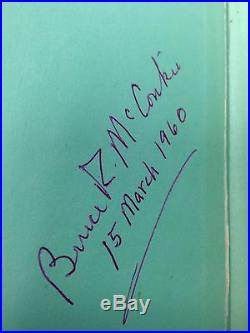 Very Rare Signed Dated 1958 Mormon Doctrine Black First Edition First Printing