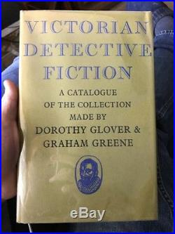 Victorian Detective Fiction by Graham Greene Signed Limited Edition 1st Rare