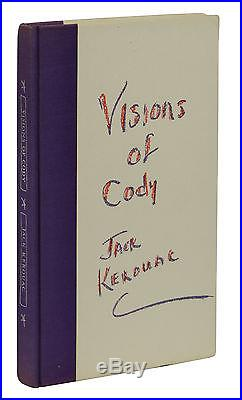 Visions of Cody by JACK KEROUAC Signed Limited Edition First Edition 1960