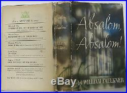 WILLIAM FAULKNER Absalom, Absalom SIGNED FIRST EDITION