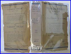 WINSTON S. CHURCHILL The World Crisis, Six volumes INSCRIBED FIRST EDITION