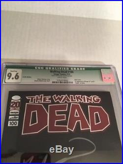 Walking Dead #100 Lucille Edition First Negan 9.6 CGC Kirkman Signed 1 of 500