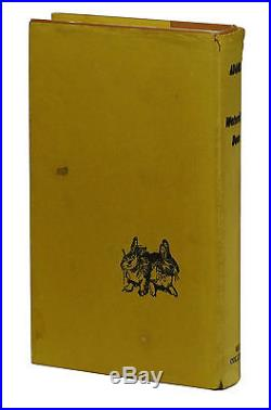 Watership Down SIGNED by RICHARD ADAMS First Edition 1st UK Printing 1972