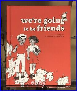 Were Going To Be Friends 1st Edition Book Signed by Jack White Stripes Vault