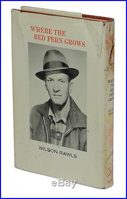 Where the Red Fern Grows SIGNED by WILSON RAWLS Stated First Edition 1st 1961