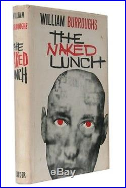 William Burroughs The Naked Lunch John Calder, 1964, Signed First Edition