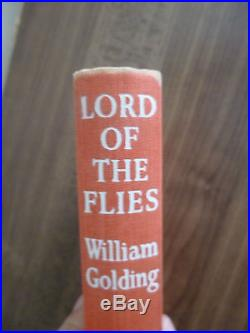 William Golding,'Lord of the Flies' UK first edition signed 1st/1st, Nobel