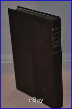 William S. Burroughs SIGNED & Inscribed Naked Lunch First Edition 1962