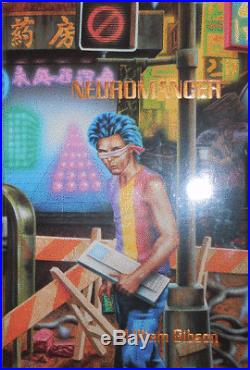 William Science Fiction Gibson / Neuromancer Signed Limited Edition 1st ed 1986