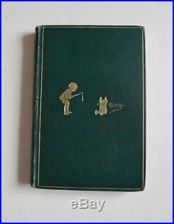 Winnie the Pooh by A. A. Milne First Edition 1st/1st 1926 Signed rare