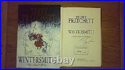 Wintersmith SIGNED LIMITED EDITION NUMBERED HB SLIPCASED Terry Pratchett 1st/1st