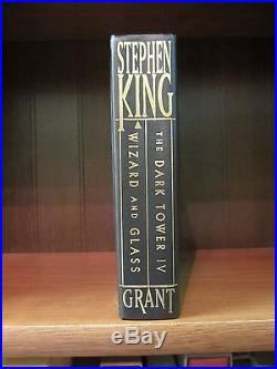 Wizard and Glass by Stephen King (1997 Signed First Edition)