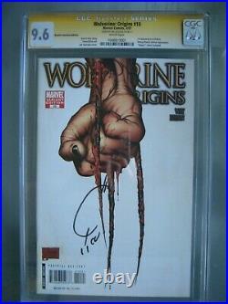 Wolverine Origins #10 3rd Claw Variant CGC 9.6 SS Signed Joe Quesada 1st Daken