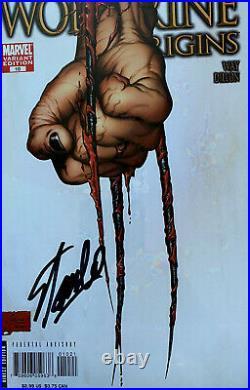 Wolverine Origins #10 Cgc 9.4 Ss Signed Stan Lee 3rd Claw Variant 1st Daken