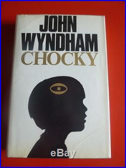 Wyndham, John,'Chocky' first edition, first print, signed association copy
