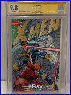 X-Men #1 CGC 9.8 SS Signed Jim Lee Gatefold Special Variant 1st Acolytes