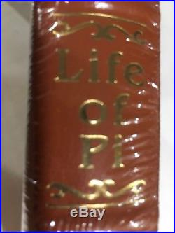 Yann Martel Life Of Pi EASTON PRESS Signed First Edition Sealed Mint