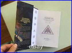 Yoon Ha Lee, MACHINERIES OF EMPIRE, 3 First Edition, Signed, Ltd. Hardbacks