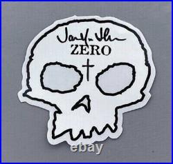 Zero x Iron Maiden Killers Deck Signed by Jamie Thomas 1st Edition