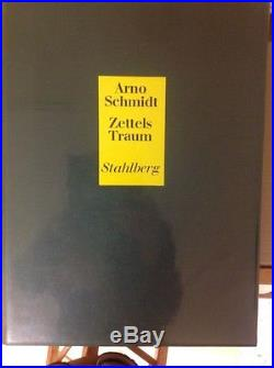 Zettels Traum. By Arno Schmidt. First edition. Signed