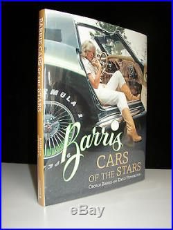 (george) Barris Cars Of The Stars Signed First Edition Custom Celebrity
